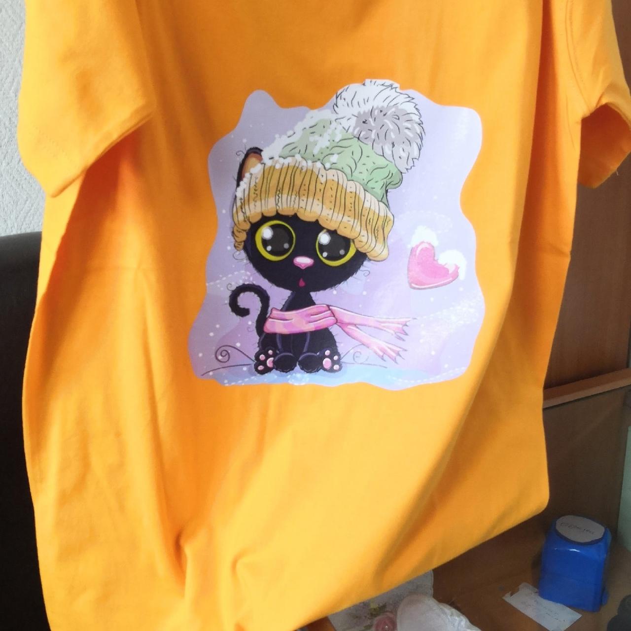 печать изображения на футболке